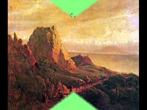 Горные вершины на картинах Лермонтова