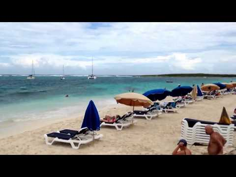 Nude Beach St.martin Caribbean Sea video