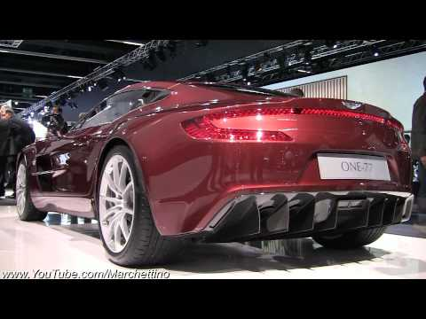 Brown Aston Martin ONE-77 – 2011 Frankfurt Motor Show