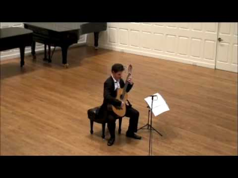 Jorge Morel - Sonatina - Mvt 3 - Simon Powis Classical Guitar