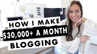 Download lagu How To Start a Blog | How I Make Over $30,000 A Month Blogging