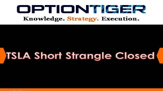TSLA Short Strangle Closed by Options Trading Expert Hari Swaminathan