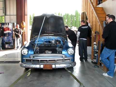 1949 Chevy Dyno - 235 six cylinder - Sloppy Mechanics Fall Dyno Day 2011