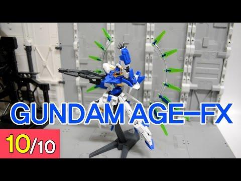 [REVIEW] HG 1/144 건담 AGE-FX - Gundam AGE-FX