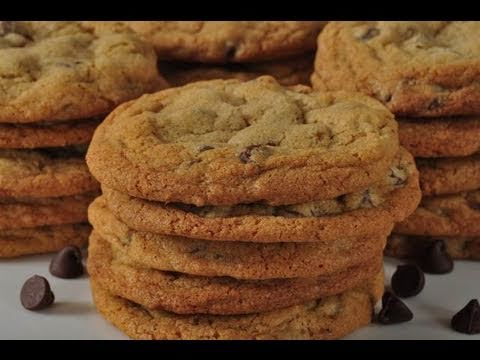 Chocolate Chip Cookies Recipe Demonstration - Joyofbaking.com