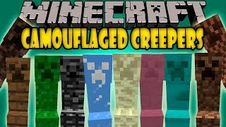 KAMUFLE OLABİLEN CREEPER