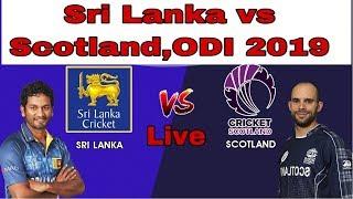 PTV SPORTS LIVE   Sri Lanka vs Scotland 1st odi Live stream 2019   Sports Live