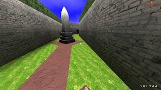 Quake 3 DeFRaG: cityrocket_gimrock