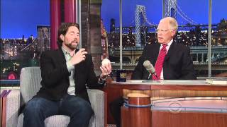 R.A. Dickey on The Late Show with David Letterman
