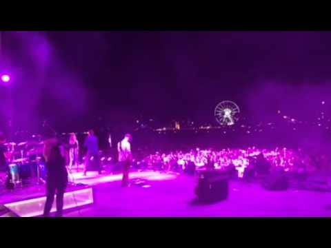 Tailgate Watch: Cassadee Pope Surprises Chris Young and the Stagecoach Crowd