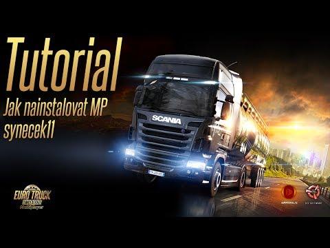 UHD Euro Truck Simulator 2 Multiplayer ► Tutorial Česky ► Jak nainstalovat multiplayer ► synecek11