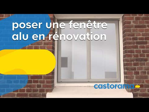 Castorama porte int rieure vitr e page 1 10 all for Poser une fenetre en renovation