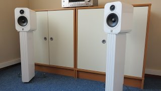 Q Acoustics 3020 speakers and Concept 20 stands recordings