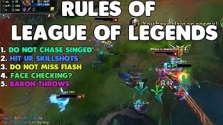 LoL Best Stream Moments #2 - RULES OF LEAGUE OF LEGENDS?