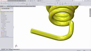 SOLIDWORKS Tutorial: Determine the Length of a Bent Wire Using the Neutral Fibre Technique