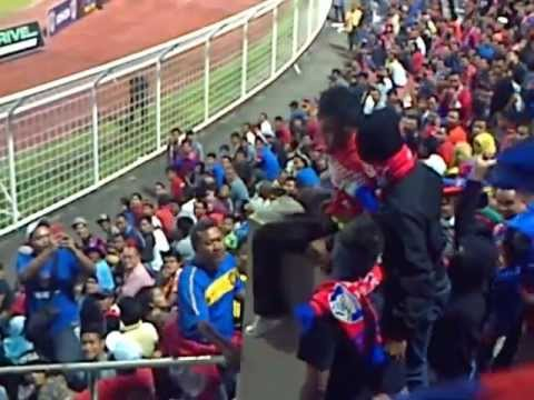 January 25, 2013 4:15 PM MYT Tan Sri Dato' Hj Hassan Yunos Stadium � Johor Bahru Kejadian berlaku semasa perlawanan antara Darul Takzim FC bertemu Perak FA d...