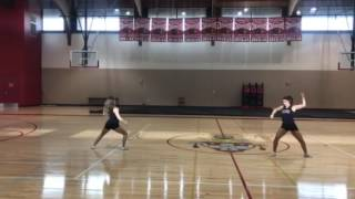 2017-2018 tryout dance to counts