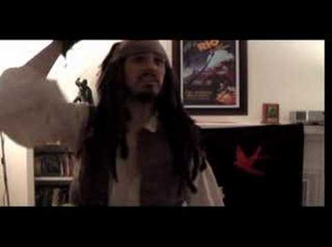 Talk Like a Pirate Day  with Jack Sparrow