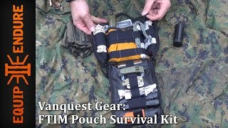 Vanquest Gear FTIM Pouch Survival Kit | Gear Review | Equip 2 Endure