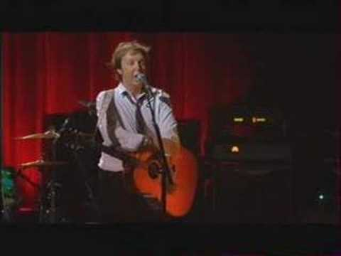 Paul McCartney - Live at the Olympia Paris - Speech #3