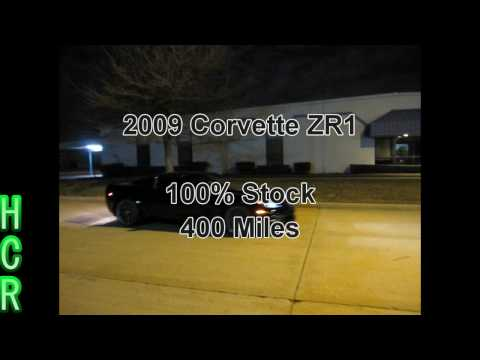 2009 Corvette ZR1 vs 2007 Corvette Z06 (Supercharged) Music Videos