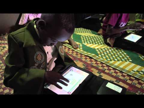 Unicef Innovation: Learning at their fingertips in Sudan
