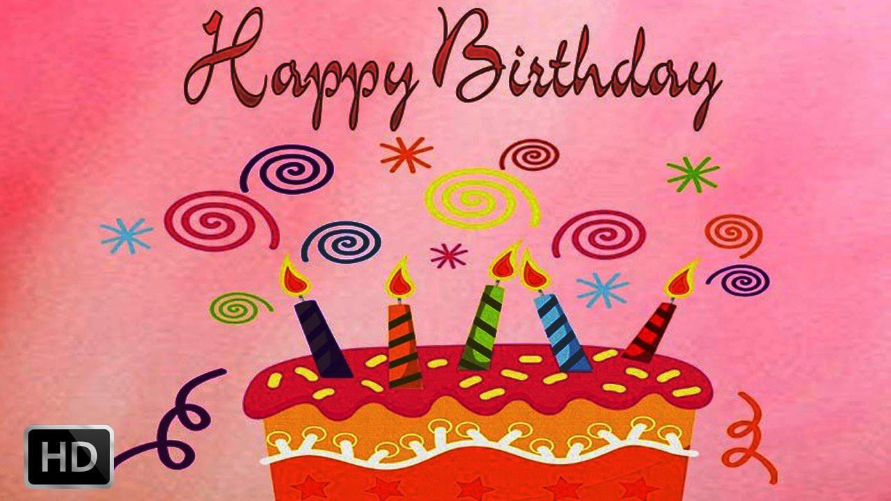 Happy birthday to you celebration congratulation