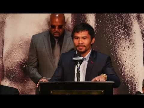 Floyd Mayweather Jr.-Manny Pacquiao final press conference