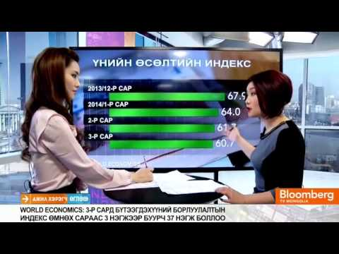 BloombergTV Reporting on the World Economics SMI: Mongolia - March 2014