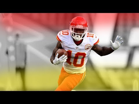 Tyreek Hill || Fastest Player in NFL || 2017 HD
