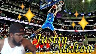 TEACH ME HOW TO DUNK! JUSTIN MELTON PBA ALL STAR DUNK CONTEST HIGHLIGHTS REACTION!2