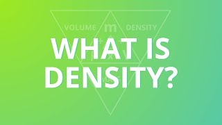 Density, Mass and Volume formula tutorial