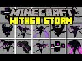 Lagu Minecraft WITHER MOD!  FIGHT DIFFERENT WITHER BOSSES!  Modded Mini-Game