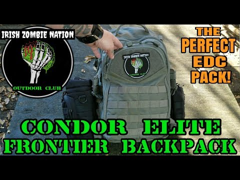 The Perfect EDC Pack! Condor Elite Frontier Backpack - Review (Best Everyday Carry Pack)