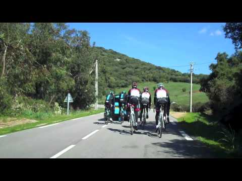 RADIOSHACK LEOPARD TREK Recons Corsica Tour de France stages