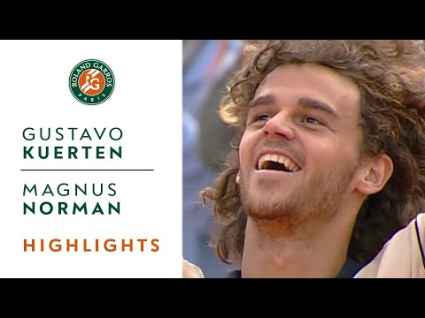 Gustavo Kuerten v Magnus Norman Highlights - Men's Final I Roland-Garros 2000