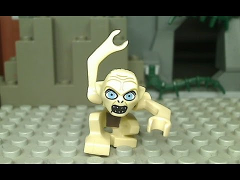 Gollum does Gangnam Style in LEGO