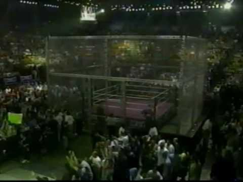 Women Of Wrestling - Unleashed Ppv: Part 14 - Thug Vs Selina Majors (cage Match) video