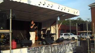 American Idol Adam Brock sings at Hot Diggity Dog Days in Canonsburg