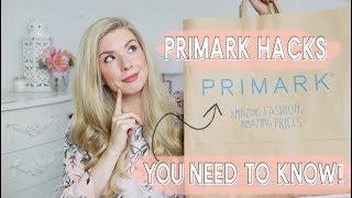 PRIMARK SHOPPING HACKS YOU NEED TO KNOW! | KATE MURNANE