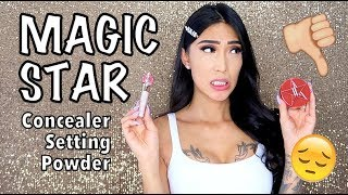 Jeffree Star MAGIC STAR Concealer & Setting Powder (First Impressions)