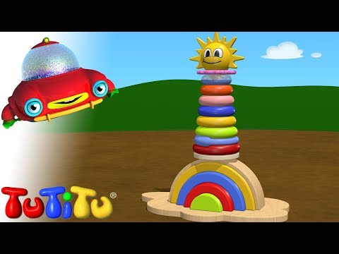 TuTiTu Toys | Rainbow Tower Toy