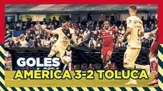 Club América 5 3-2 4 Toluca | RESUMEN - Todos goles Liguilla - 4tos Vuelta | Liga MX | AP2018