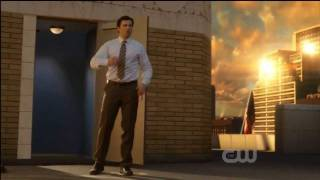 Smallville 10x22 Ending Scene - Clark Changes Into Superman