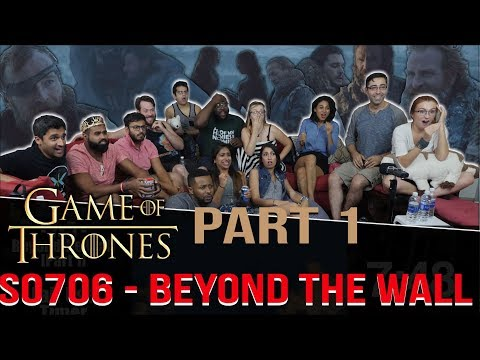 Game Of Thrones 7x6 Beyond Wall Group Reaction Part 1