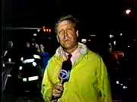 1987 Long Branch Pier Fire - WABC News Report