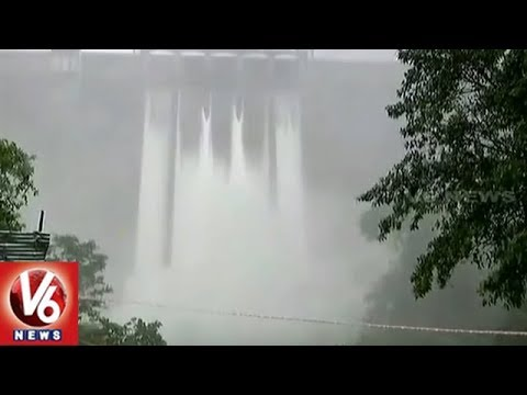 Heavy Inflow Keeps Water Level High In Idukki Dam, Centre Announces Rs 100 Cr Relief Fund | V6 News