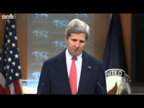 Kerry  Russia trying to create chaos