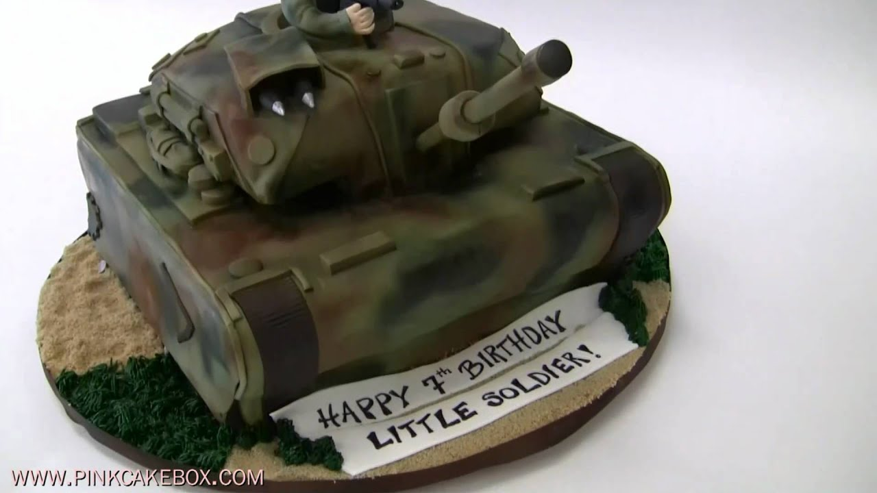 Army Tank Cakes How To Make