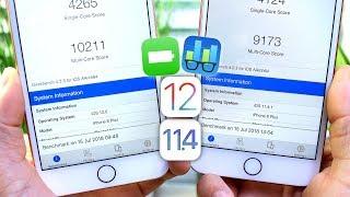 iOS 11.4.1 Vs iOS 12 Battery & Performance TEST